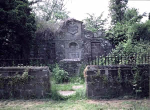 View of Gwillim Grave Enclosure as it was in 1982