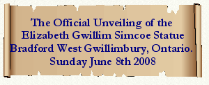 Link to unveiling the Gwillim statue